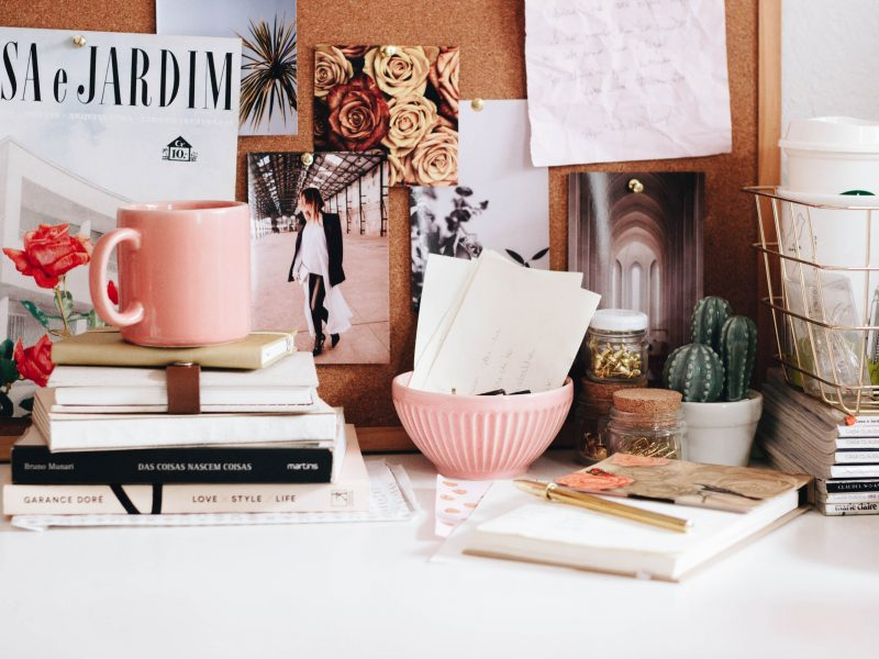 A few good tips for decorating your personal office.