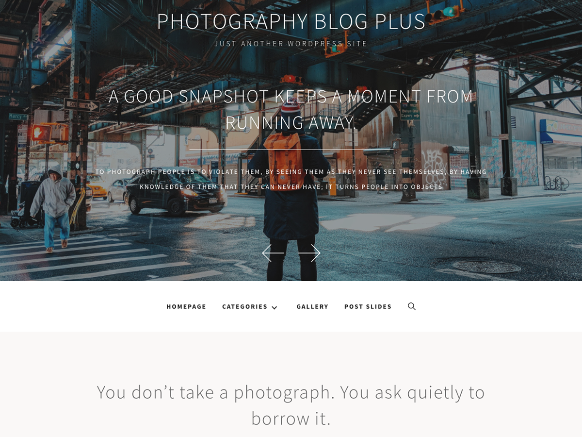 Photography Blog Plus