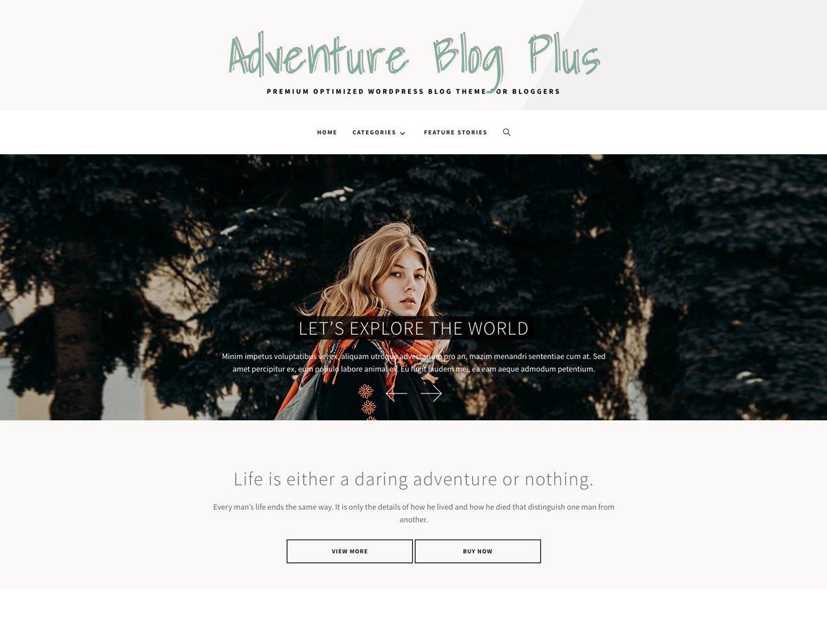 Adventure Blog Plus
