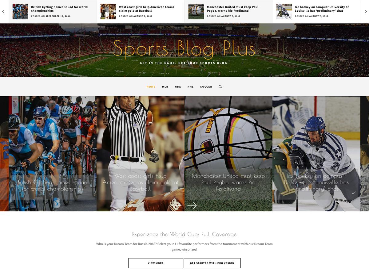 Sports Blog Plus