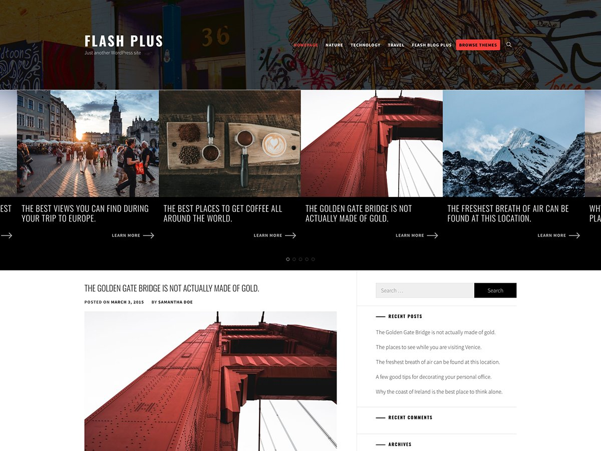 Flash Blog Plus
